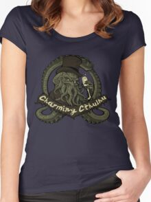 Charming Cthulhu Women's Fitted Scoop T-Shirt
