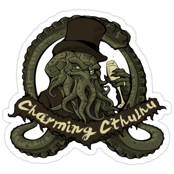 Charming Cthulhu by tchuk