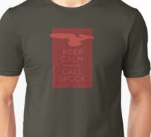 Keep Calm and Call Spock Unisex T-Shirt