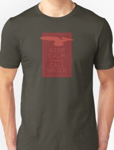 Keep Calm and Call Spock T-Shirt