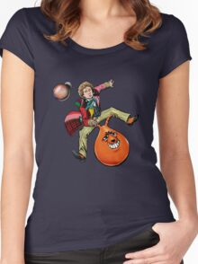 Sixie On KANGAZANG! Women's Fitted Scoop T-Shirt
