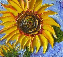 Yellow Sunflower by OriginalbyParis