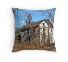 A House in the Woods Throw Pillow