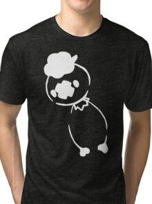 Drifloon - White Tri-blend T-Shirt