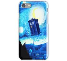 Starry Night Blue Phone Box iPhone Case/Skin