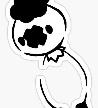 Drifloon - Black Sticker