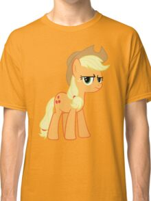 Applejack is not amused no text Classic T-Shirt