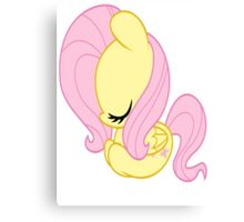 Fluttershy Easter Egg no text Canvas Print