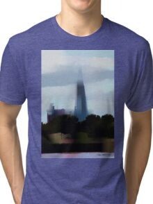 View from Docklands Tri-blend T-Shirt
