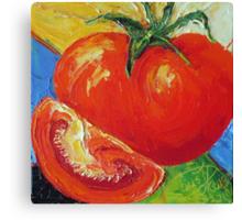 Red Tomato Canvas Print