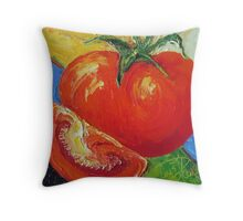 Red Tomato Throw Pillow