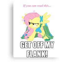 Fluttershy Flank Canvas Print
