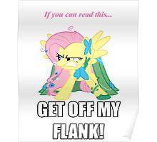 Fluttershy Flank Poster