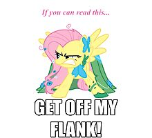 Fluttershy Flank Photographic Print