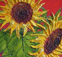 Paris' Yellow Sunflowers II by OriginalbyParis