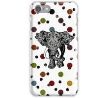 Elephant Polkadot iPhone Case/Skin