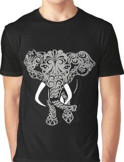 Elephant Polkadot Graphic T-Shirt