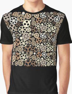 Gear Steampunk Graphic T-Shirt