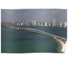Miami: Rickenbacker Causeway Poster