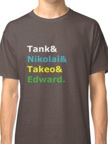 Nazi Zombies Characters (Colors) Classic T-Shirt