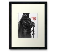 Zelda , Ganondorf ,game  Framed Print