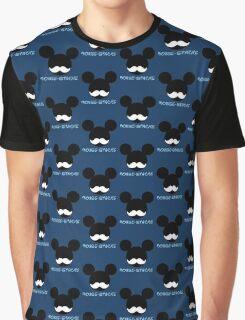 mouse-stache Graphic T-Shirt