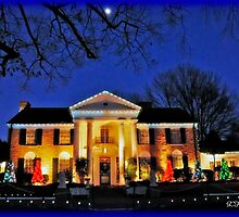 Moon Graces Graceland by BLAKSTEEL