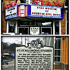 Historic STAX Recording Studio's  by BLAKSTEEL