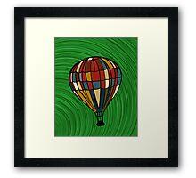 Fantasy balloon Framed Print