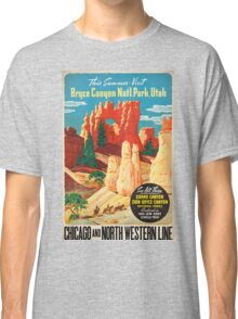 Vintage poster - Bryce Canyon Classic T-Shirt