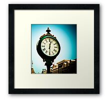 *Time Becomes... Framed Print