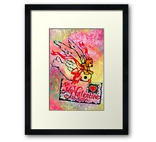 TO MY VALENTINE 2 Framed Print