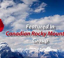 Canadian Rocky Mountains Group Banner Challenge by Alex Preiss