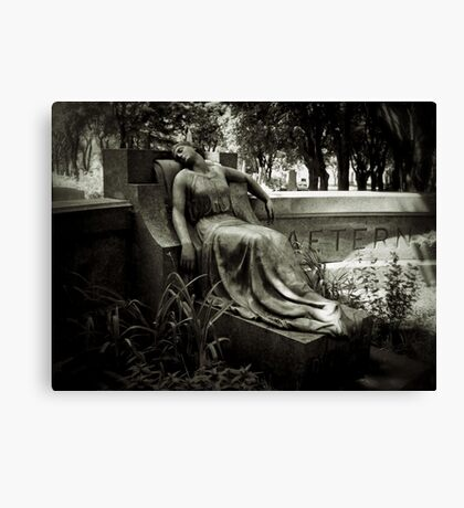 I am Stretched on Your Grave Canvas Print