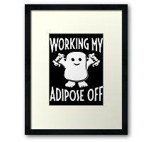 Adipose off Framed Print