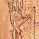 Anatomy of Hand by ARTmuffin