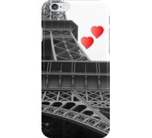 Eiffel tower love iPhone Case/Skin
