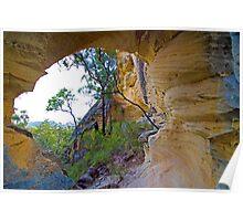 Precipice sandstone, Isla Gorge National Park, 27 September 2010. Poster