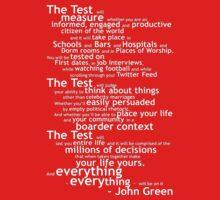 Crash Course The Test Quote Kids Clothes