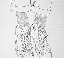 gym boots by Loui  Jover