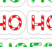 Ho Ho Ho Hoes Sticker
