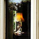 Lamp in the Window by Barbara  Brown