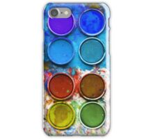 Paintbox Palette iPhone Case/Skin