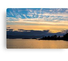 Lee Harbour, Sunshine Coast of British Columbia, Canada Canvas Print