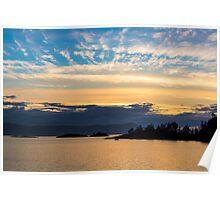 Lee Harbour, Sunshine Coast of British Columbia, Canada Poster