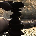 Stacking Rocks by emily fields