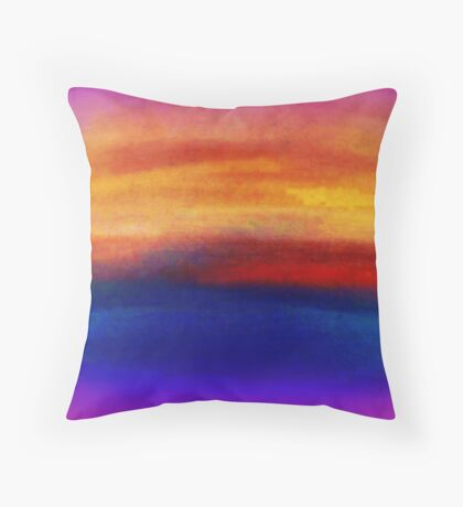 Calm Enhanced 10  Throw Pillow