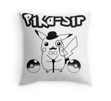 Pika-Sir Throw Pillow