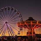 Night Lights at the Fair by emily fields