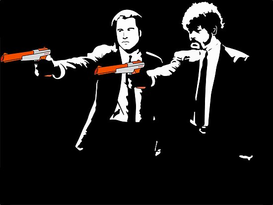 Pulp Fiction zappers by nick94
